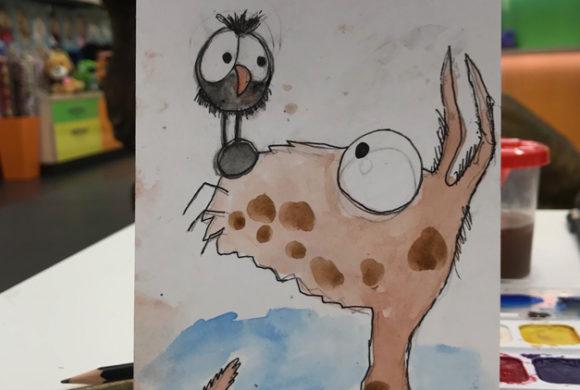 Фото отчет с мастер-классов по рисованию 30.03