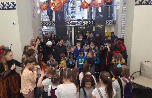 Вот и прошел Halloween в нашем торговом центре, делимся с Вами фотографиями